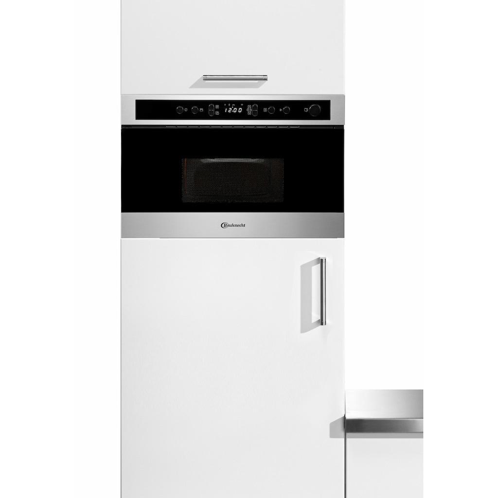 BAUKNECHT Einbau-Mikrowelle »EMNK5 2238 PT«, Dampfgarfunktion, 750 W