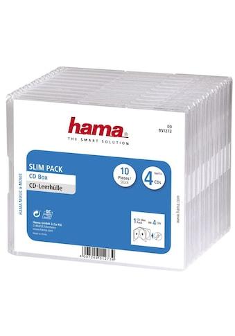 Hama DVD-Hülle, Slim Pack 4, 10er-Pack, Transparent kaufen