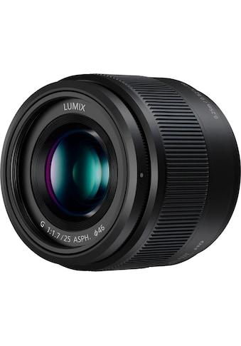 Panasonic Festbrennweiteobjektiv »H-H025E-K« kaufen