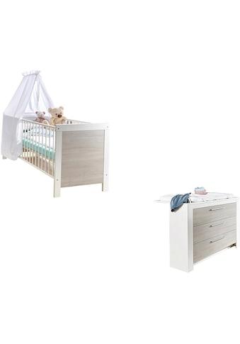 arthur berndt Babymöbel-Set »Toni«, (Spar-Set, 2 St.), mit Kinderbett und... kaufen