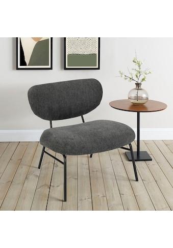 andas Polsterstuhl »Arna«, Design by Morten Georgsen, Gestellfarbe passend zum Cord oder Strukturbezug kaufen