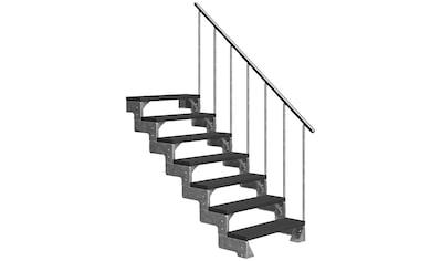 DOLLE Außentreppe »Gardentop«, für Geschosshöhen bis 154 cm, TRIMAX® - Stufen 100 cm kaufen