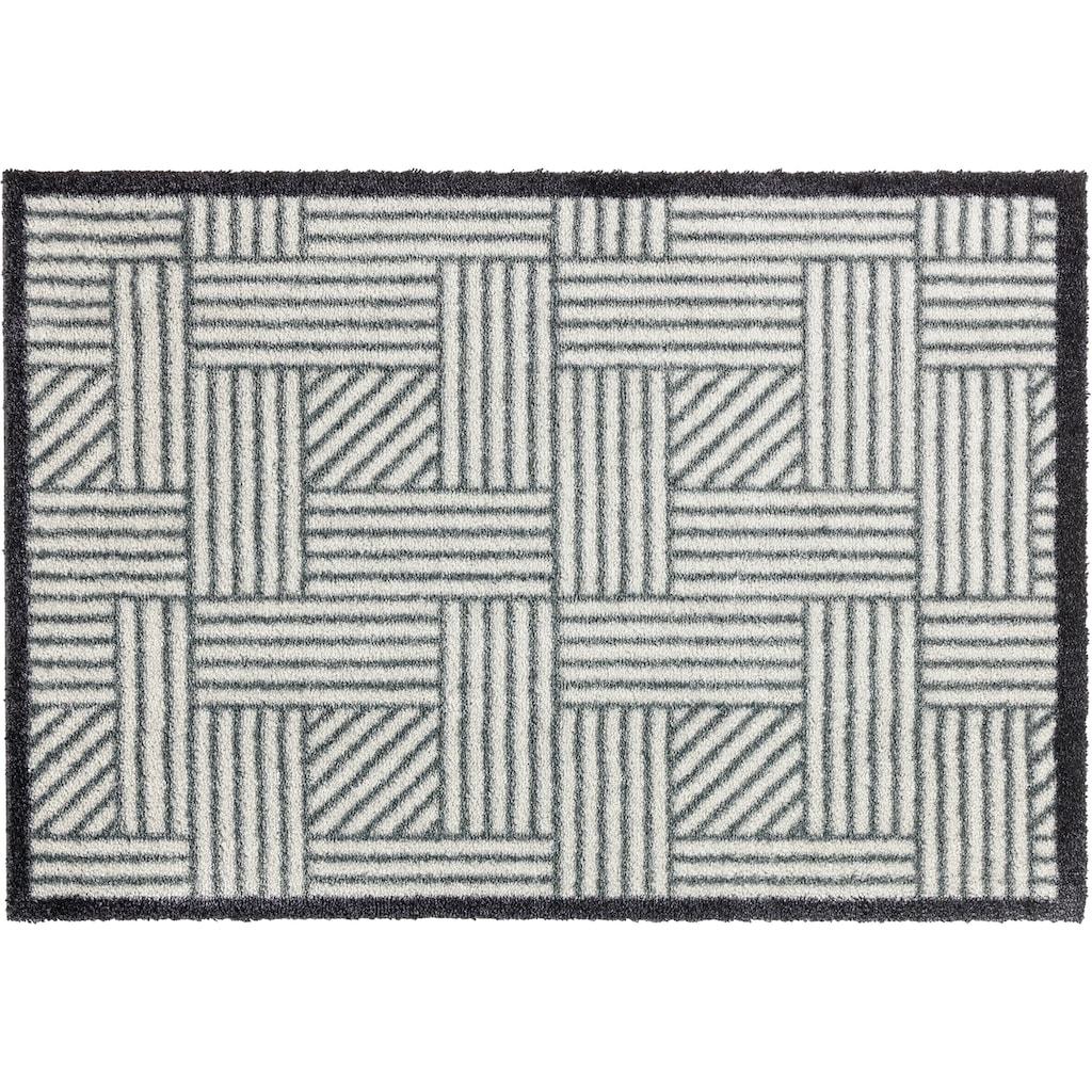 SCHÖNER WOHNEN-Kollektion Fußmatte »Manhattan 004«, rechteckig, 7 mm Höhe, Schmutzfangmatte, waschbar