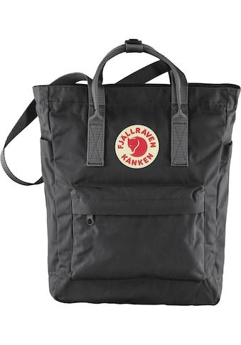 Fjällräven Freizeitrucksack »Kanken Totepack, black« kaufen