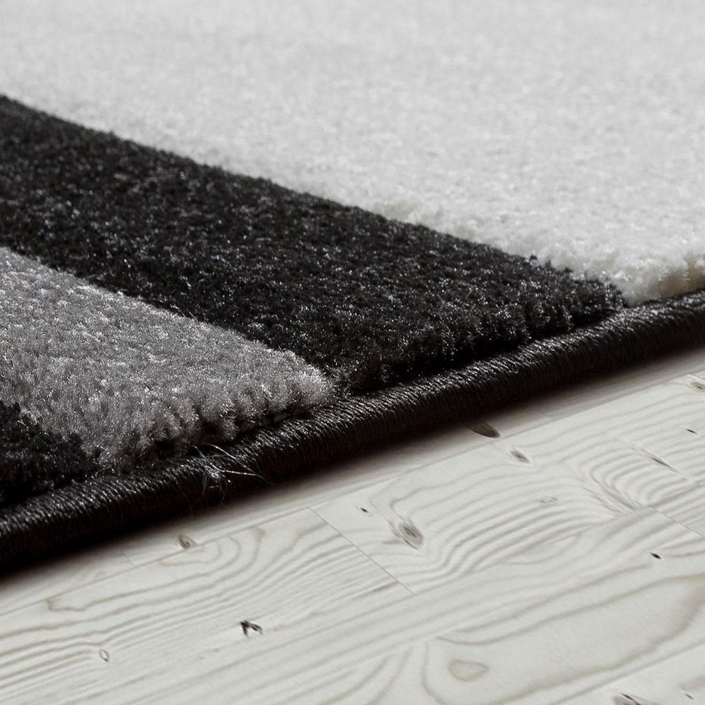Paco Home Läufer »Inferno 241«, rechteckig, 17 mm Höhe, Teppich-Läufer, Kurzflor, gewebt, mit wohnlichem Design