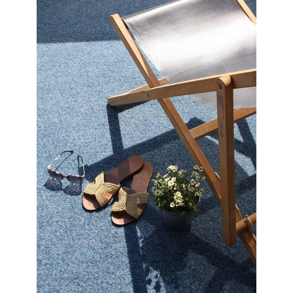 Primaflor-Ideen in Textil Kunstrasen »GREEN«, rechteckig, 7,5 mm Höhe, Rasenteppich, blau, mit Noppen, strapazierfähig, witterungsbeständig, In- und Outdoor geeignet