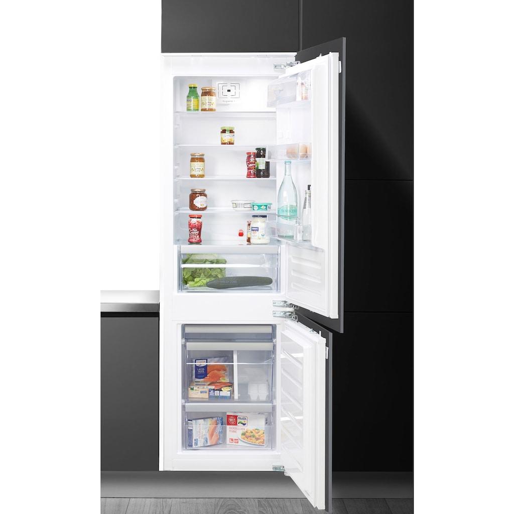 BAUKNECHT Einbaukühlgefrierkombination, Hygiene Plus