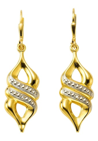 Firetti Paar Ohrhänger »Bicolor - Optik« kaufen