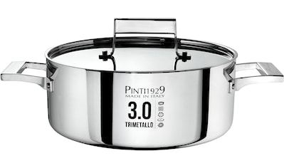 PINTINOX Bratentopf »Century 3.0«, Aluminium, (1 tlg.), Boden und Seitenwände komplett aus 3 Schicht Material gefertigt, Induktion kaufen