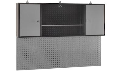 PROFIWERK Hängeschrank »Norden«, (B/H/T): ca. 160x60x20 cm, inkl. Lochwand kaufen