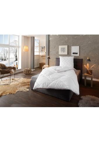 fan Schlafkomfort Exklusiv Microfaserbettdecke »Climacontrol®«, warm, Bezug... kaufen