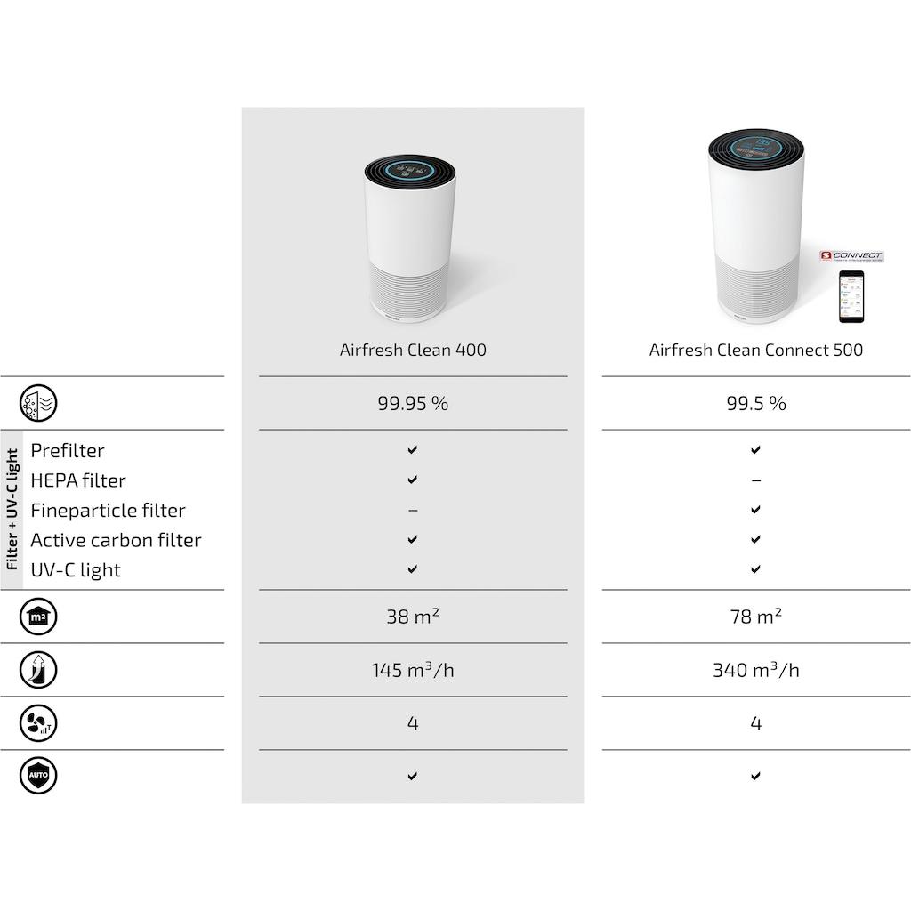 Soehnle Luftreiniger »AirFresh Clean 400«, für 38 m² Räume