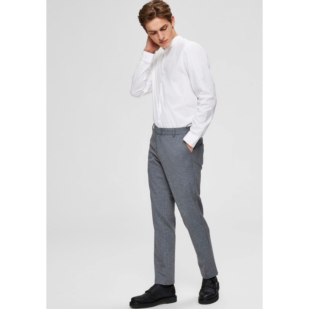 SELECTED HOMME Anzughose »SLIM-JERSEY FLEX PANTS«