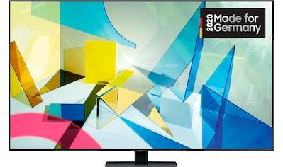 Samsung GQ85Q80T QLED - Fernseher (214 cm / (85 Zoll), 4K Ultra HD, Smart - TV kaufen