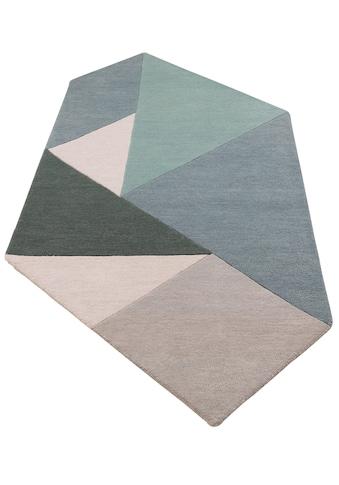 Wollteppich, »Modern 1«, andas, rechteckig, Höhe 14 mm, handgetuftet kaufen