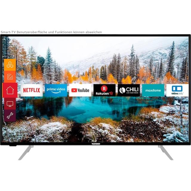 Telefunken D43V800M4CWH LED-Fernseher (108 cm / (43 Zoll), 4K Ultra HD, Smart-TV