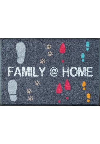 wash+dry by Kleen-Tex Fußmatte »Family @ Home«, rechteckig, 9 mm Höhe,... kaufen