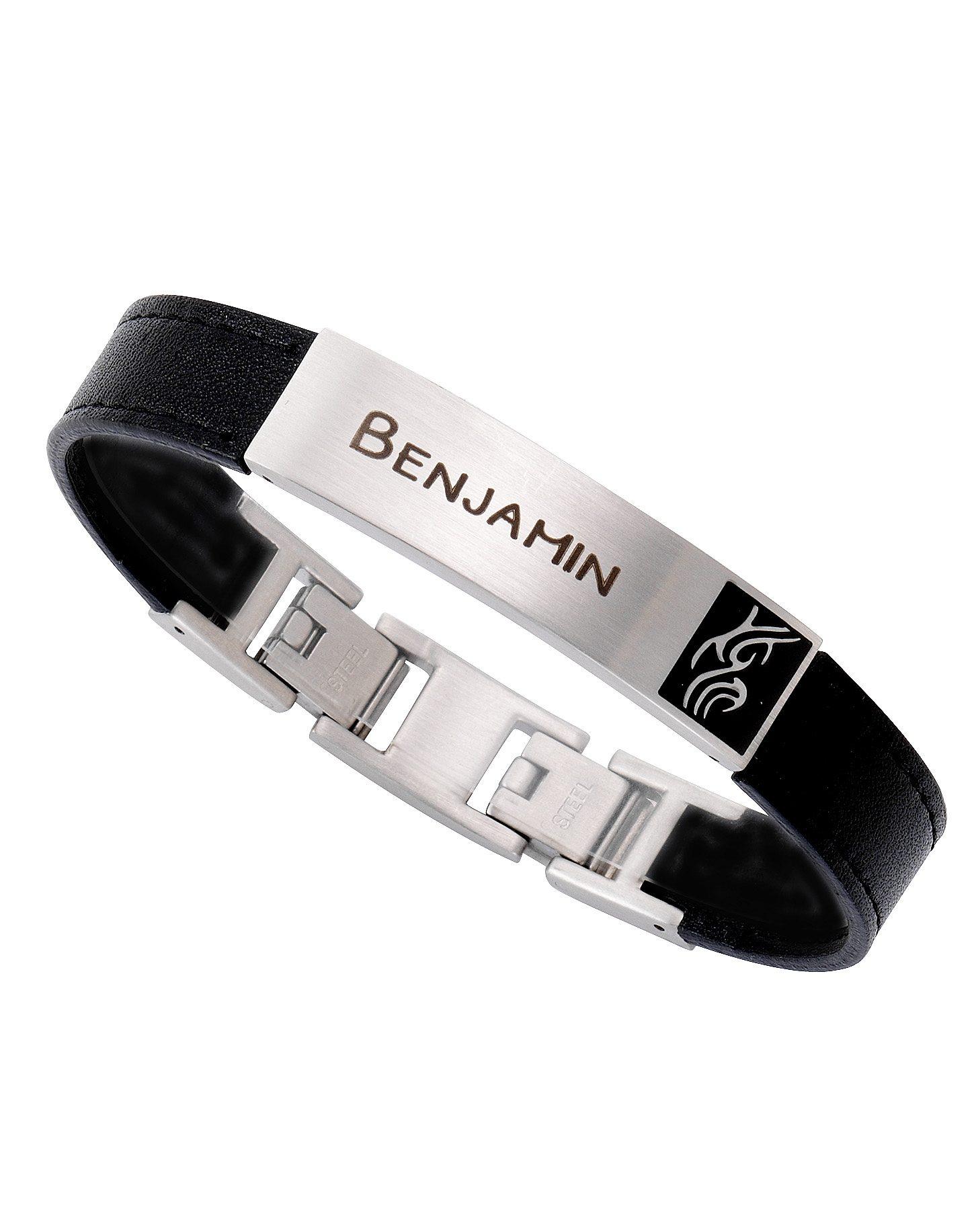 Firetti ID Armband »mit Gratis Gravur möglich, Tribal« | Schmuck > Armbänder > Armbänder mit Gravur | FIRETTI