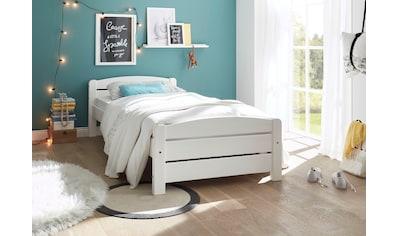 Einzelbett »Ivi«, aus massivem Kiefernholz kaufen
