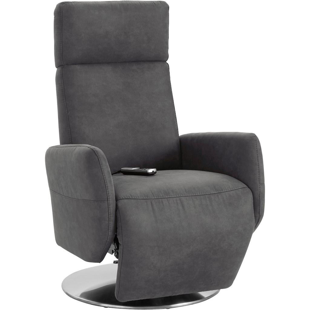 Places of Style Relaxsessel »Kobra«, in Größe M, wahlweise mit Motor und Aufstehhilfe