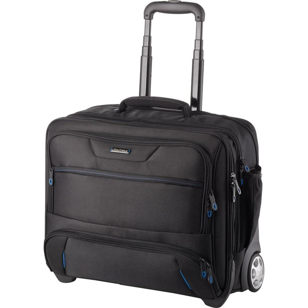 LIGHTPAK® Business-Trolley »Sky«, 2 Rollen, mit Laptopfach