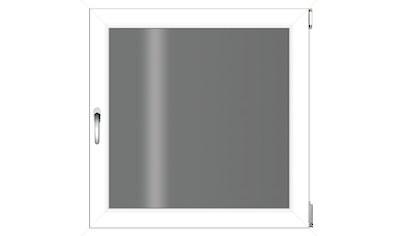 RORO Türen & Fenster Kunststofffenster, BxH: 60x60 cm, ohne Griff kaufen
