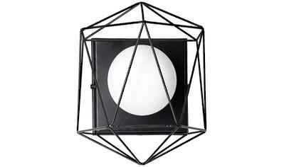 Brilliant Leuchten Wandleuchte »Synergy«, G9, 1 St., Wand- und Deckenlampe schwarz/weiß kaufen
