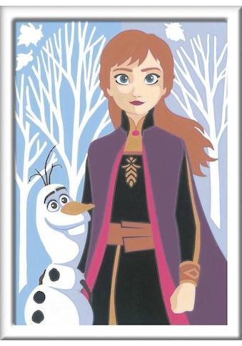 Ravensburger Malen nach Zahlen »Disney Frozen II, Anna und Olaf«, Made in Europe, FSC® - schützt Wald - weltweit kaufen