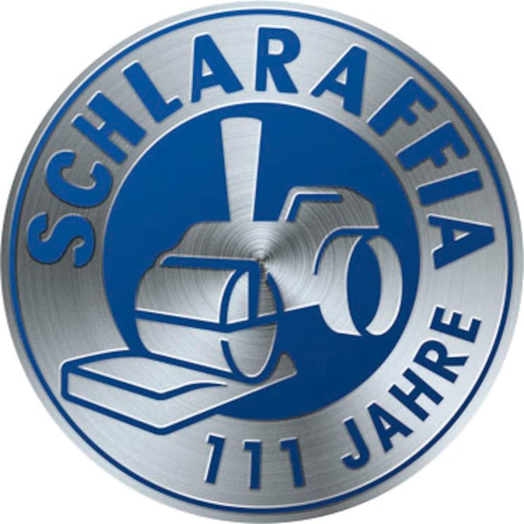 Schlaraffia Boxspringbett »Saga«, inkl. BULTEX® Topper, Metallfuß in Chrom