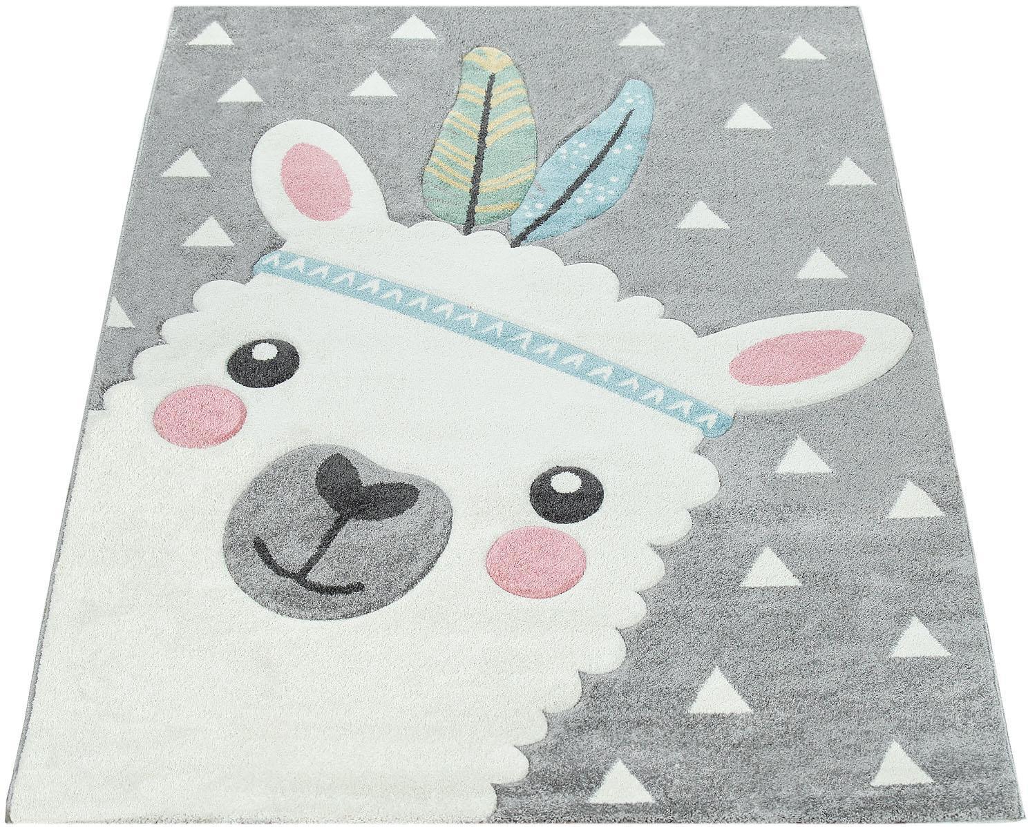 Kinderteppich, »Ela 214«, Paco Home, rechteckig, Höhe 17 mm, maschinell gewebt | Kinderzimmer > Textilien für Kinder > Kinderteppiche | Paco Home