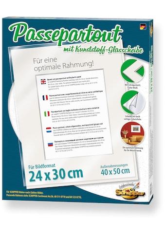 Schipper Bilderrahmen »Passepartout für Bildformat 24x30 cm«, Made in Germany kaufen