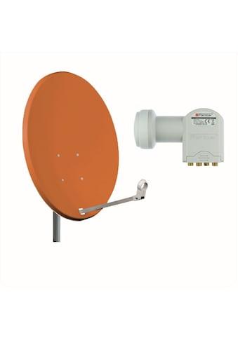 Opticum Red Sat-Spiegel »X80 Stahl mit Quad LNB Sat Anlage« kaufen