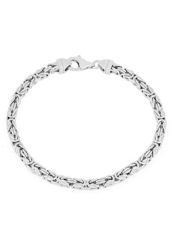 Firetti Königsarmband »4,0 mm breit, diamantiert, quadratisch« kaufen