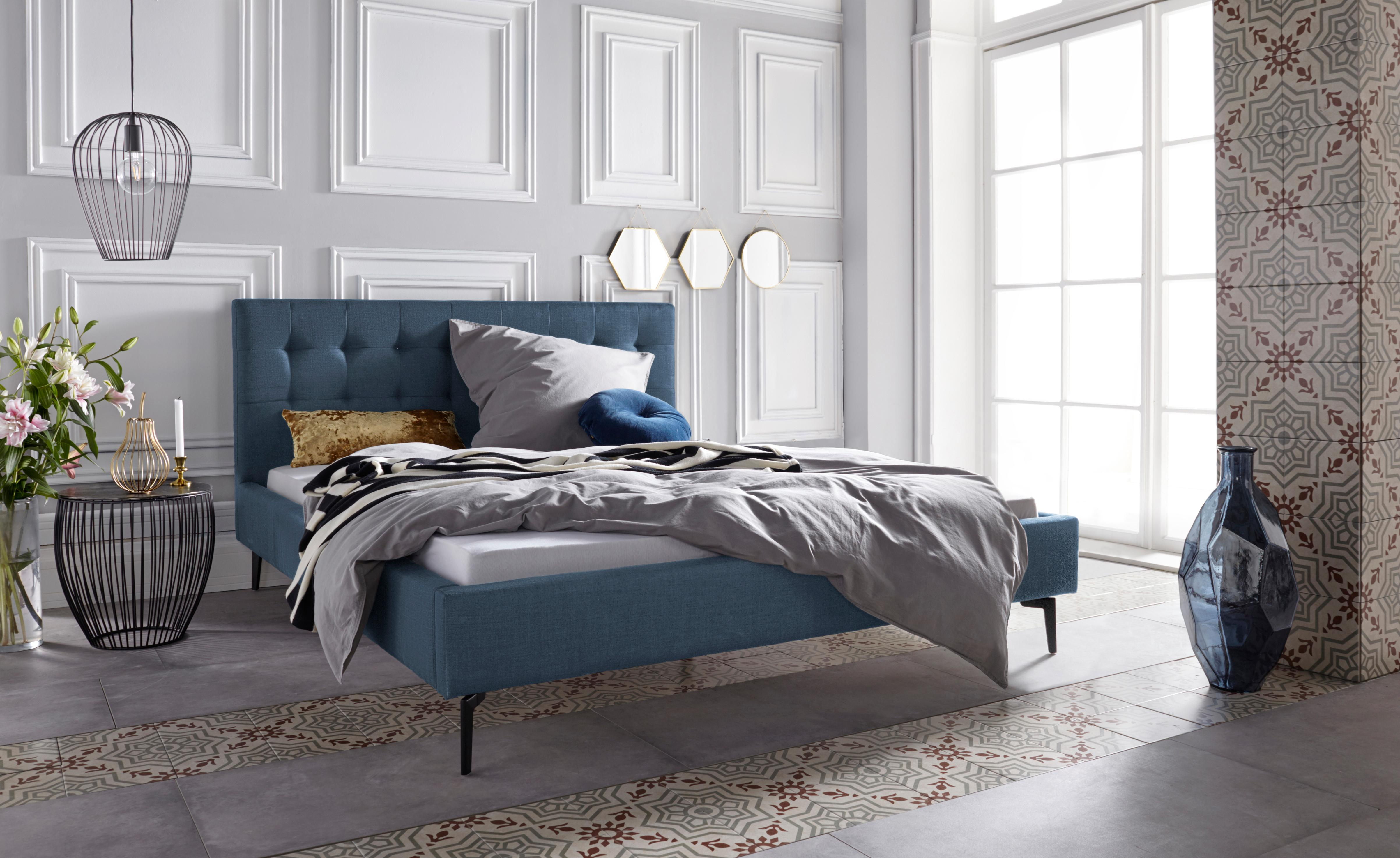 Leonique Polsterbett »Sinaloa« | Schlafzimmer > Betten > Polsterbetten | Leonique