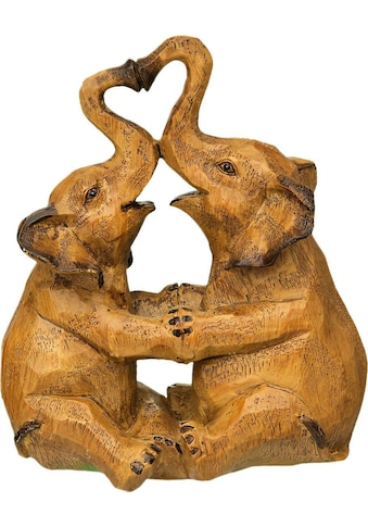 Home affaire Dekofigur »Elefanten - Paar« kaufen