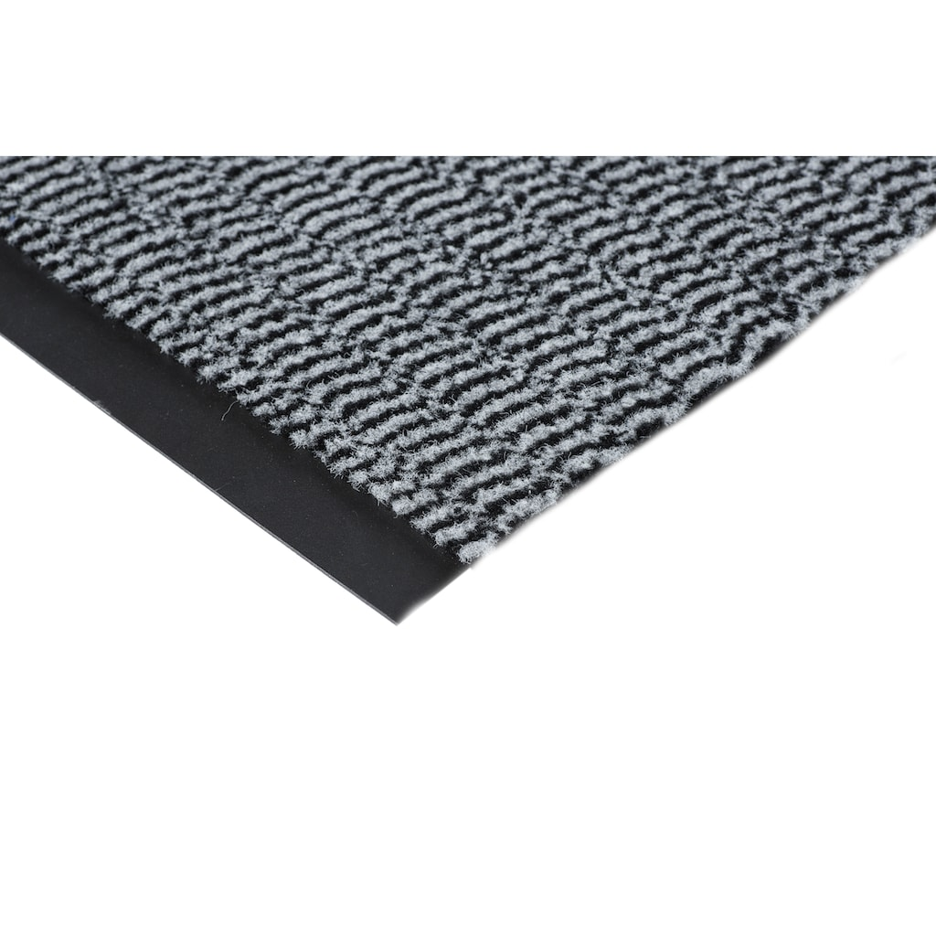 Andiamo Fußmatte »Easy«, rechteckig, 5 mm Höhe, Schmutzfangmatte, Innen- und überdachten Außenbereich geeignet