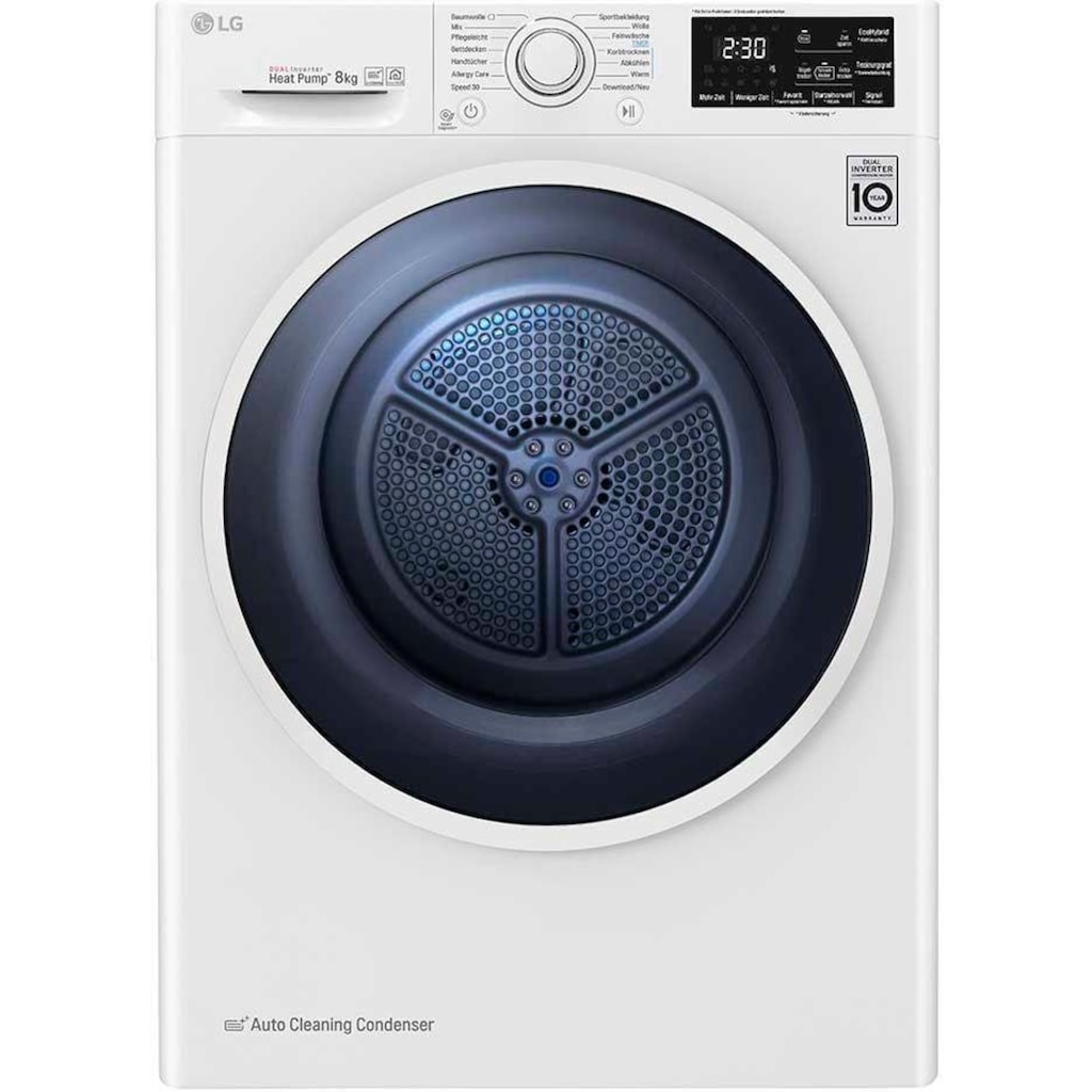 LG Wärmepumpentrockner »RT8DIH1Q«