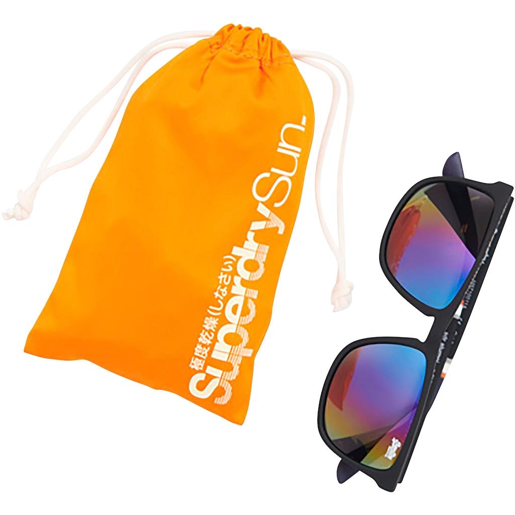 Superdry Retrosonnenbrille, mit 3 Zierstreifen am Bügel