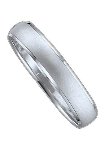 Firetti Trauring mit Gravur »sandmatt, seitlich mit Diamantschnitt, 4,0 mm breit« kaufen
