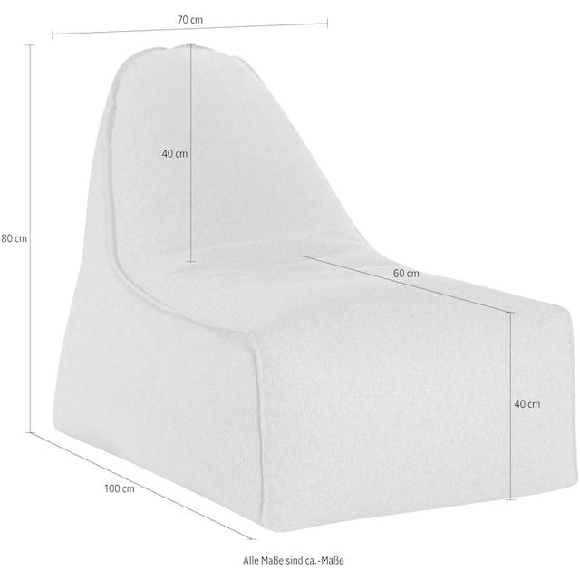 Sitting Point Sitzsack »Boogie FELT« (1 Stück)