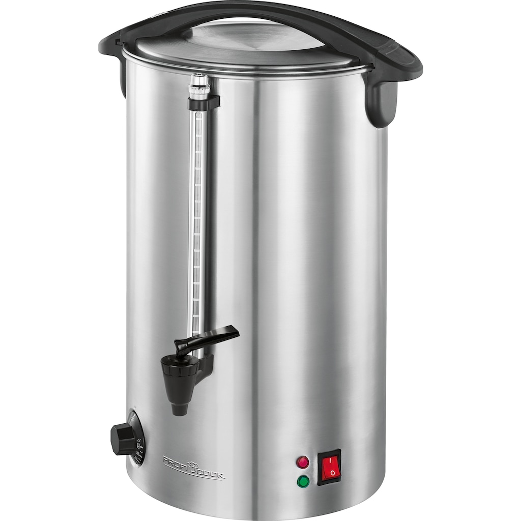 ProfiCook Heißgetränke- und Glühweinautomat PC-HGA 1196, 7 Liter Füllmenge, 1500 Watt