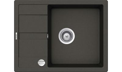 SCHOCK Granitspüle »Lucca Plus«, ohne Restebecken, 65 x 50 cm kaufen