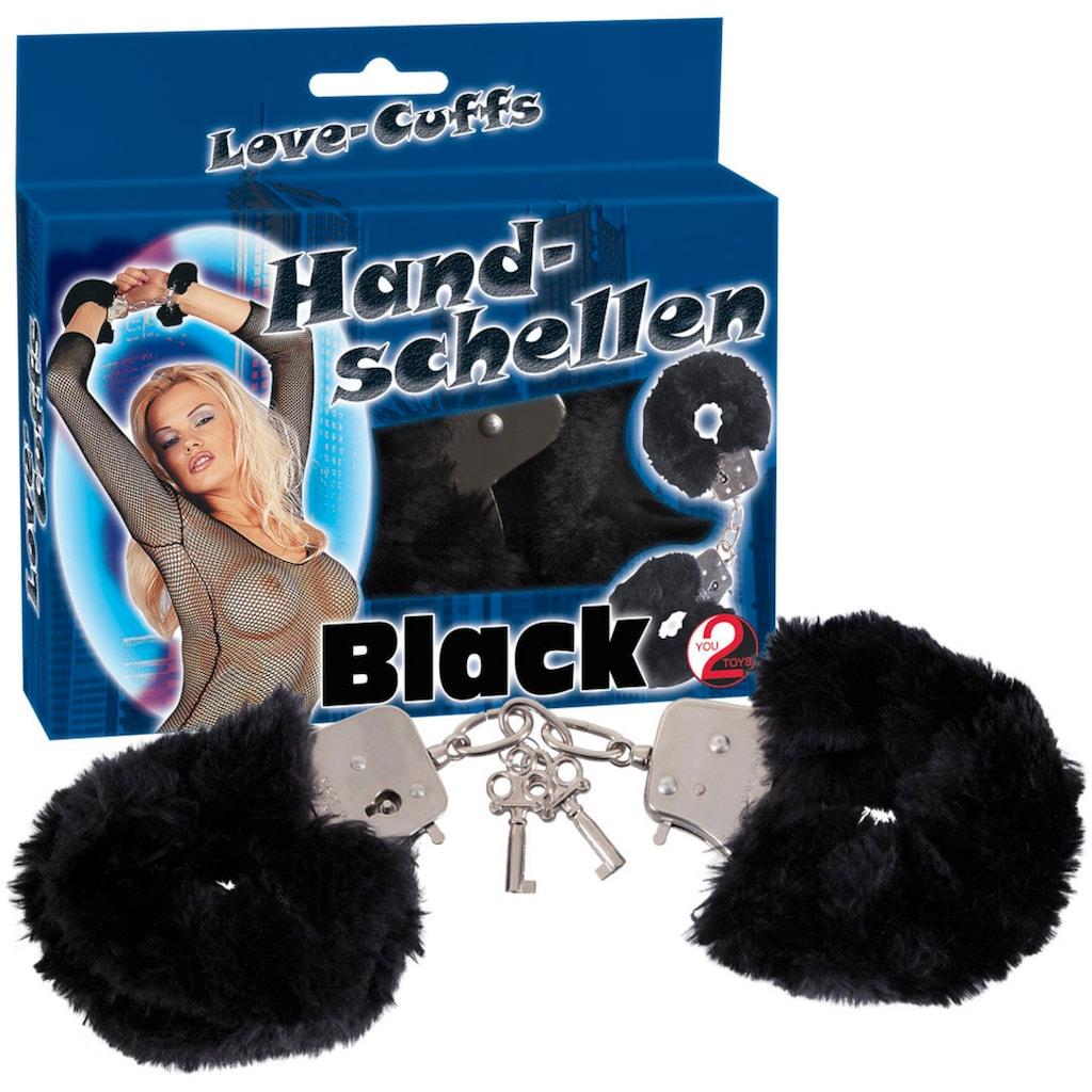 You2Toys Handschellen »Love Cuffs black«