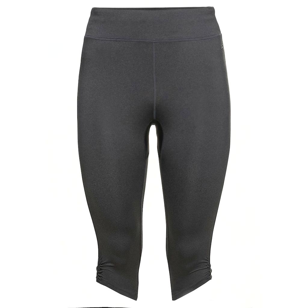 Sheego Sporthose,atmungsaktiv und schnelltrocknend