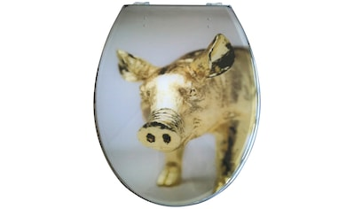 ADOB WC-Sitz »Schwein«, mit Metallscharnieren kaufen