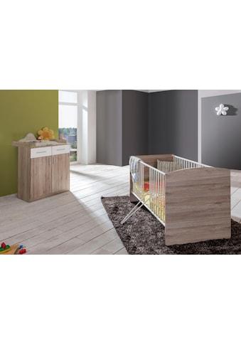 Babymöbel-Set »York«, (Spar-Set, 2 St.), Bett + Wickelkommode kaufen