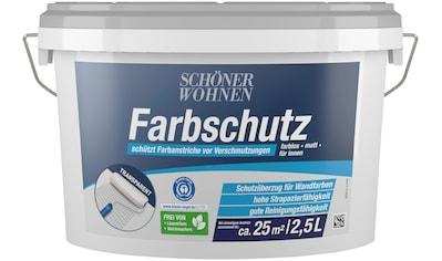 SCHÖNER WOHNEN-Kollektion Wandfarbe »Farbschutz«, farblos, matt kaufen