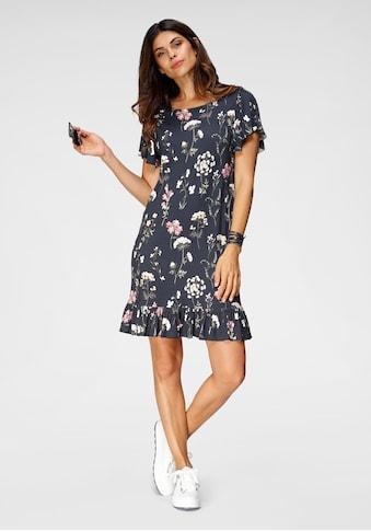 Boysen's Jerseykleid, mit kleinen Volants kaufen