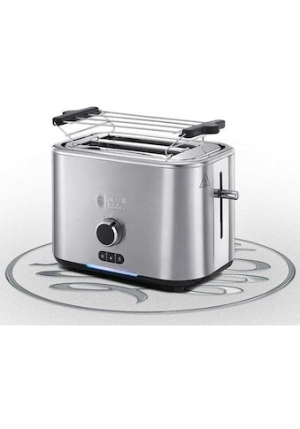 RUSSELL HOBBS Toaster »Velocity 24140-56«, 2 kurze Schlitze, für 2 Scheiben, 2400 W, spart wertvolle Zeit kaufen