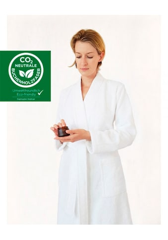 freundin Home Collection Damenbademantel »Supersoft«, aus CO2 neutraler Buchenholzfaser kaufen